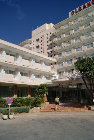 Hotel Oleander : Das Hotel von außen