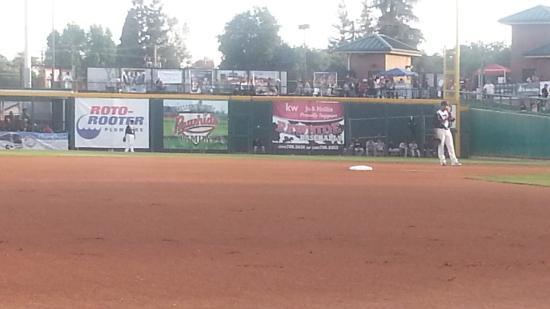 Rawhide Ballpark: 1st inning