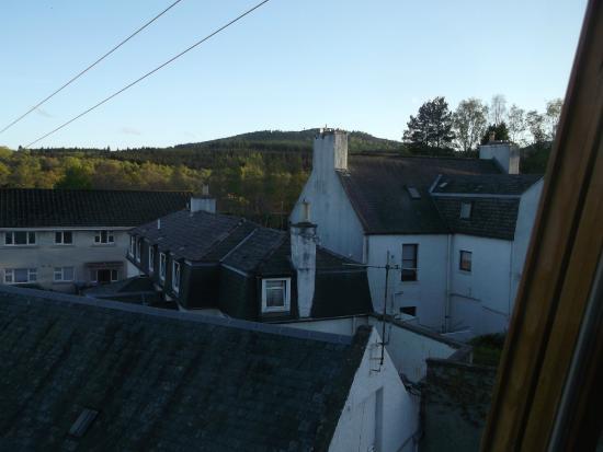 Douglas Arms Hotel: From bedroom window