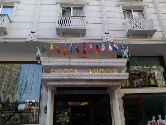 Kuran Hotel International: Hotel entrence