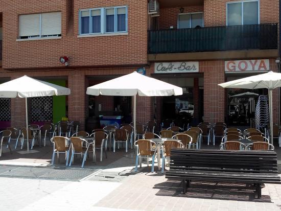 Terraza del cafe bar goya picture of cafe bar goya for Terraza bar