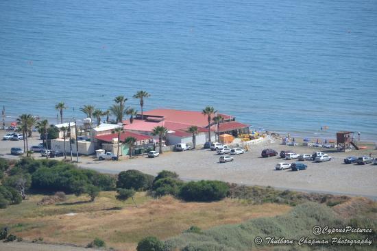 Kourion Beach Taverna / Restaurant - the first restaurant