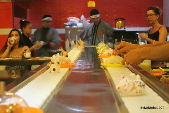 Restaurante Origamis Kaiten Sushi