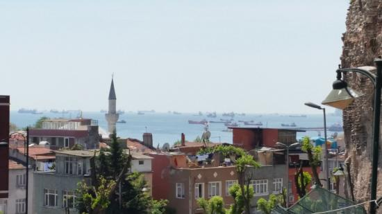 Topkapi Apartments: View from the roof