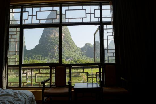 Hidden Dragon Villa: Vue de la chambre