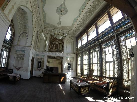 atigh traditional hotel reception - Traditional Hotel Interior
