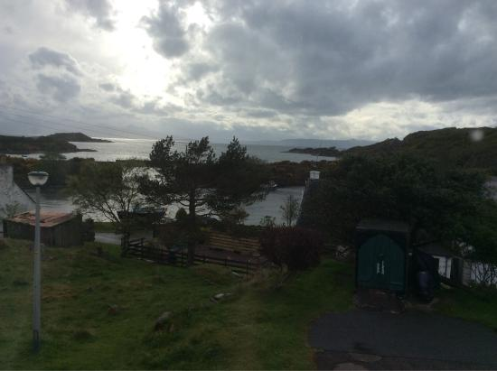 Creag Dubh: View from the twin room.