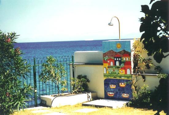 B&B Villa Addaura: Accesso diretto al mare