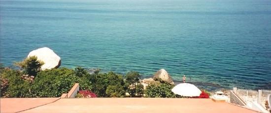 B&B Villa Addaura: Vista mare