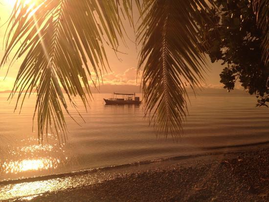 Leyte Dive Resort: Vue des chambres