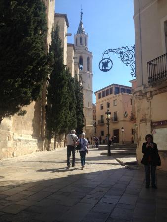 Vilafranca, mooi plaatsje vlakbij Cal Mestre
