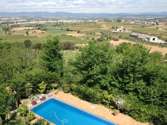 Uitzicht vanuit Cal Mestre