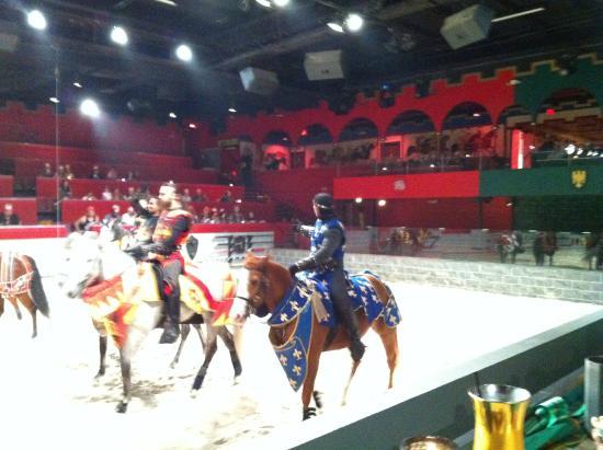Arabian Nights Dinner Attraction: Lots of action at Arabian Nights