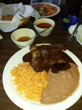 Mole pollo usd picture of alejandra 39 s restaurant for Alejandra s mexican cuisine