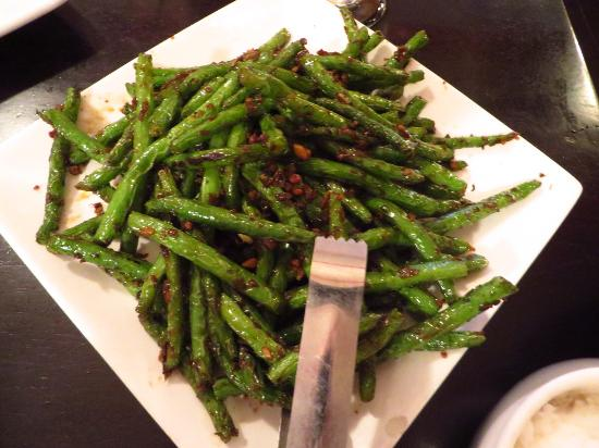 Hot Kitchen: Fried string beans