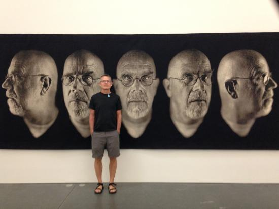 Parrish Art Museum: Exhibit of Chuck Close photographs
