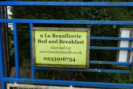 9 La Beauficerie bed and breakfast : Entrada del B&B