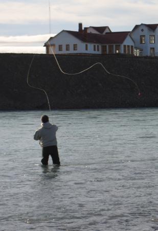 Calafate Fishing: llegando