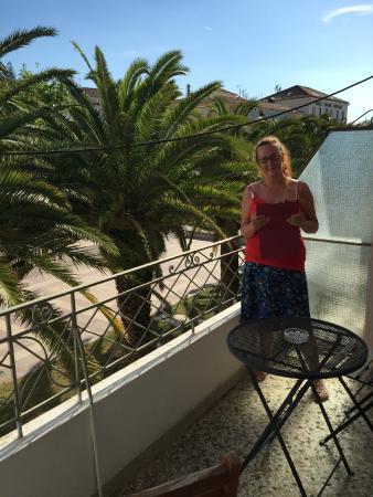 Latini Family Hotel: Our balcony, Hotel Latini