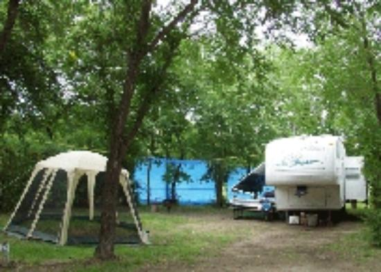 Outlook & District Regional Park: One of our many Camping Site
