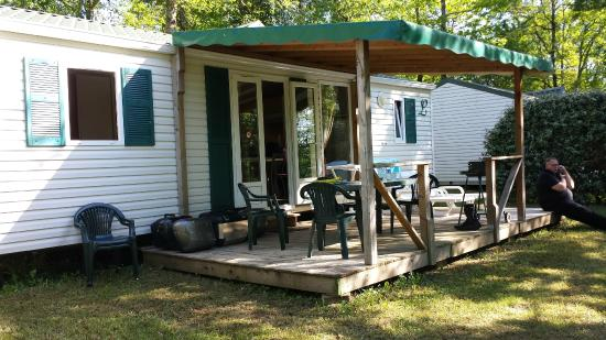 Camping La Palombiere: le mobilhome 3 chambres