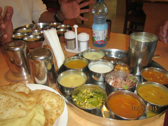 Udupi : Some of the dishes we were offered