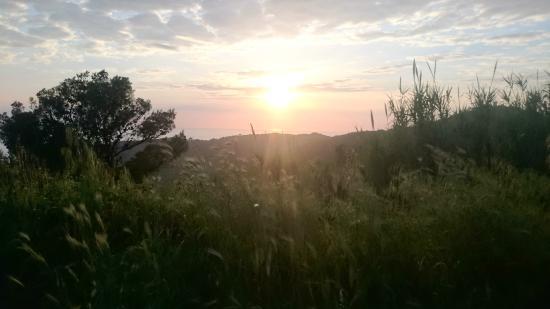 Arpaderba B&B : vista tramonto