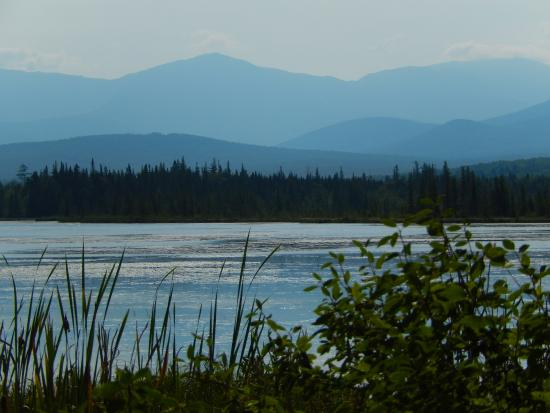 Jefferson, Nueva Hampshire: View of Presidential Range from Pondicherry NWR