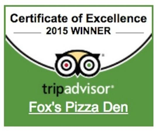 Fox's Pizza Den, 존슨 시티 - 레스토랑 리뷰 - 트립어드바이저