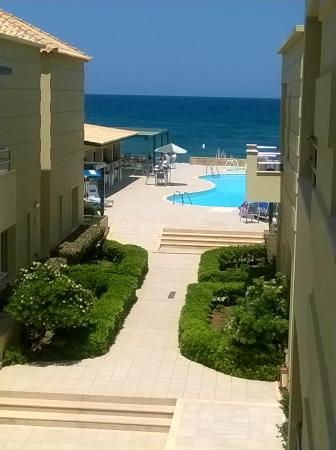 Lissos Apartments : View from the balcony