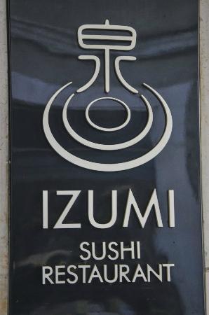 IZUMI sushi restaurant: Izumi japanese restaurant