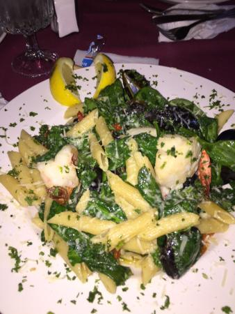 Wautoma, WI: Sensational seafood pasta! I've had this special twice now and truly crave it again! Shrimp, sca