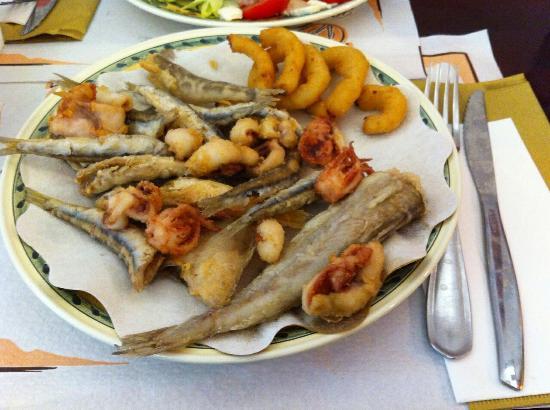 Gallo Food Factory: Fritto misto porzione media € 6.00