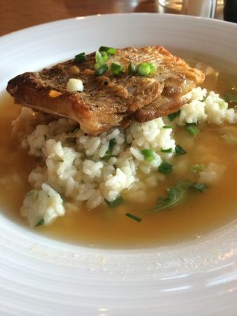 New Buffalo, MI: Seared tile fish