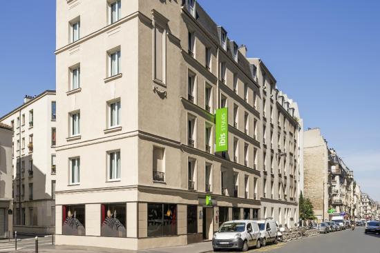 front hotel photo de h tel ibis styles paris alesia montparnasse paris tripadvisor. Black Bedroom Furniture Sets. Home Design Ideas