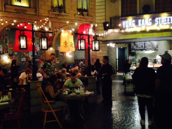 Yong Kang Street Restaurant Paris Hotel Las Vegas