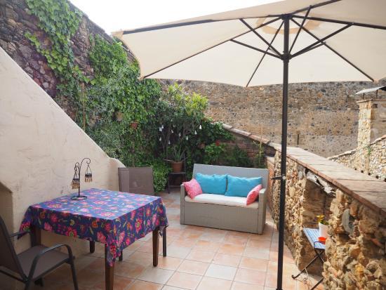 Casa Matilda Bed and Breakfast: Terraza/Terrasse