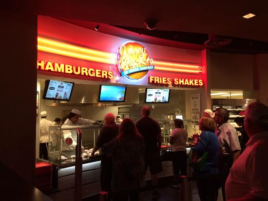 Johnny Rockets Inside The Food Court In Cherokee Nc
