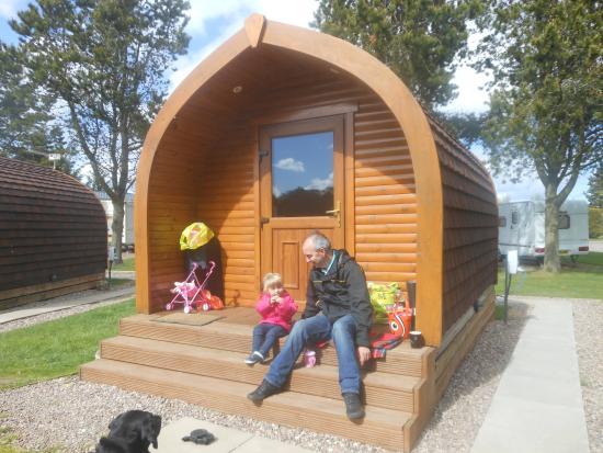 Deeside Holiday Park: lovely pods
