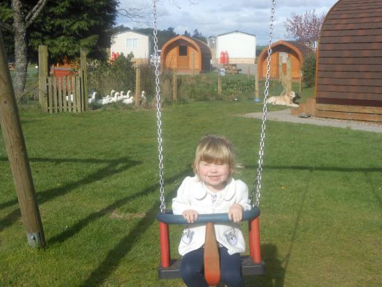 Deeside Holiday Park: nice playpark