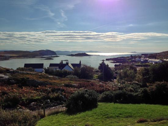 Isle of Coll, UK: View