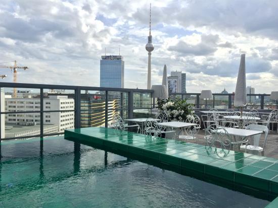 Rooftop View Picture Of Soho House Berlin Berlin Tripadvisor