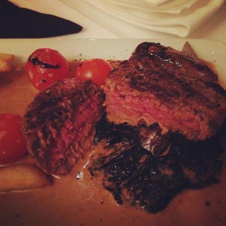 The Stage Door Restaurant: Fillet Steak
