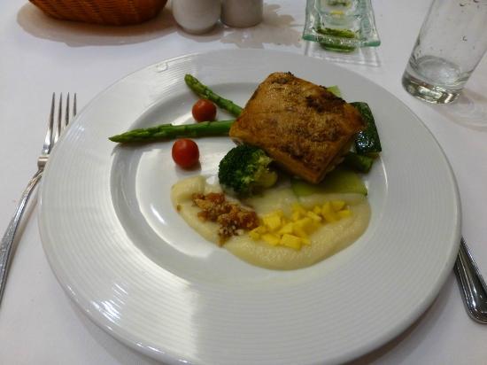Dinner in Hotel Restaurant