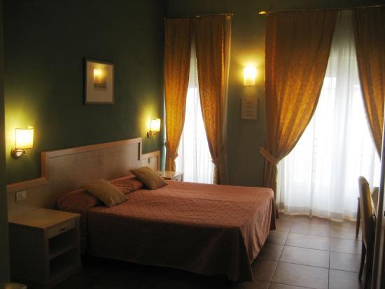 Hotel Belvedere : notre chambre (4ème étage)