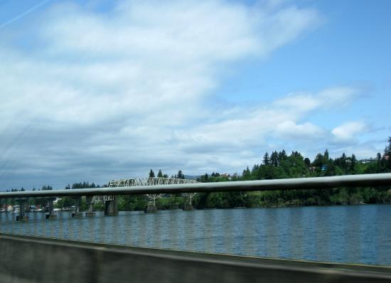Puget Island - Cathlamet bridge