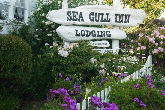 Sea Gull Inn Bed and Breakfast : Entrance Sign