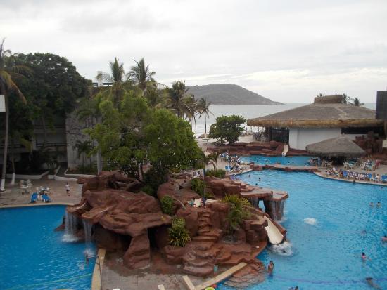 El Cid Castilla Beach Hotel View From Our Pool Room