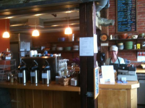 Millheim, PA: Friendly barista