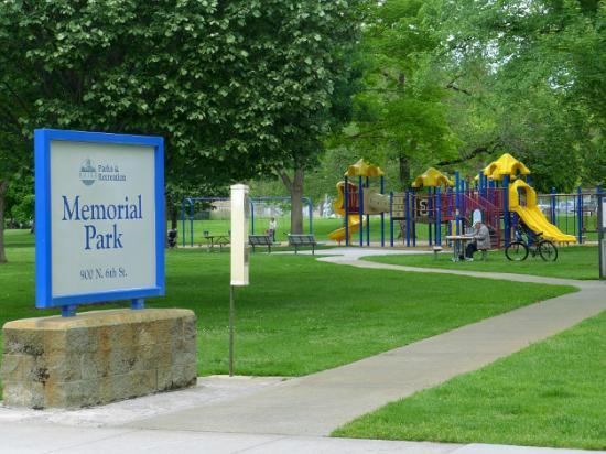 Memorial Park, North End, Boise
